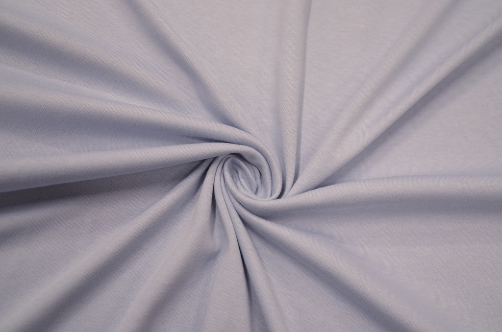 Интерлок гладкокрашенный рулон Серо-голубой, фото 1