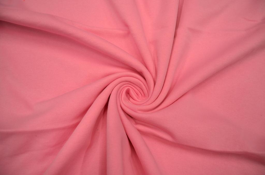 Футер 2-х нитка с начёсом гладкокрашеный пачка  Розовый, фото 1