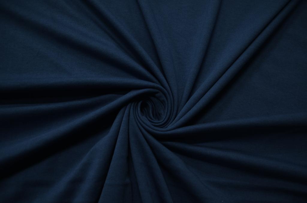 Кулирная гладь гладкокрашеная пачка Морской синий, фото 1