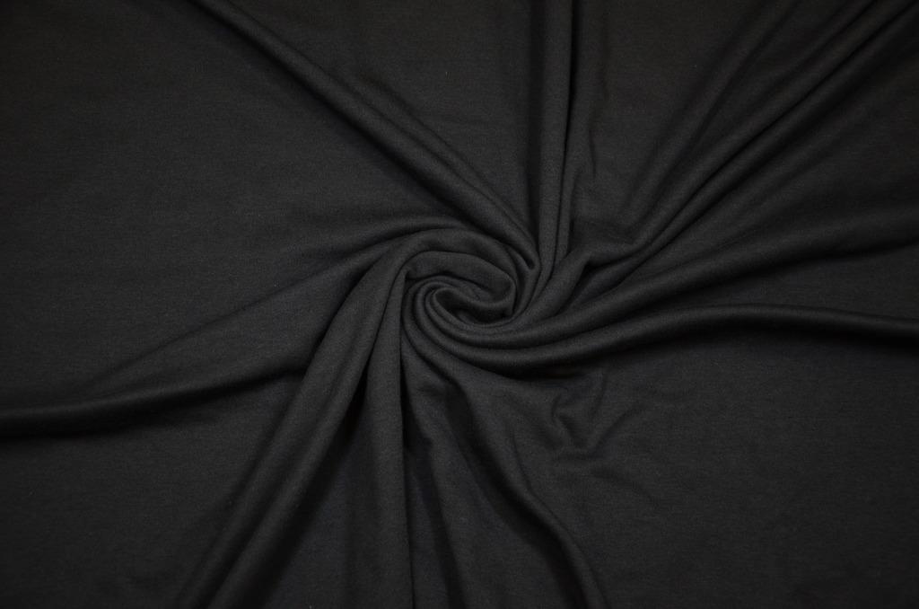 Интерлок гладкокрашенный пачка Черный, фото 1