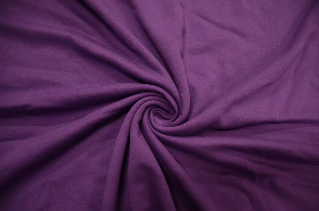 Футер 2-х нитка с начёсом гладкокрашеный пачка  Фиолетовый, фото 1
